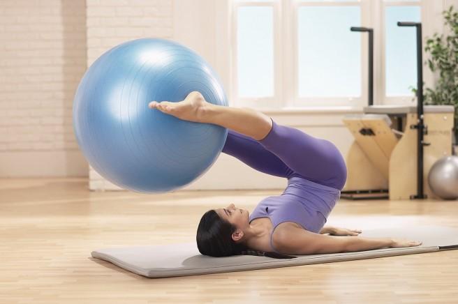 Pilates Stability Ball Blast